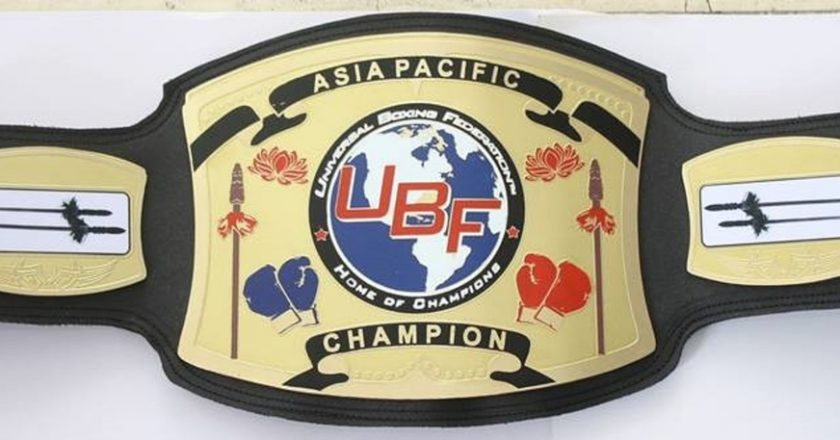 UBF Asia Pacific Championship Belt