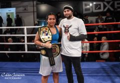 Nailini Helu - UBF Asia Pacific Women's Heavyweight Champion