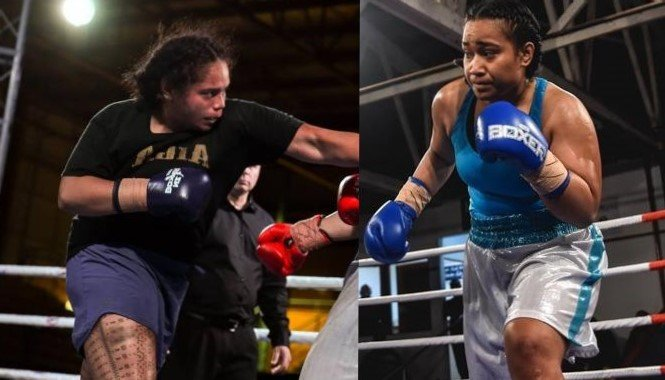 the rematch between Arlie Meleisea and Nailini Helu
